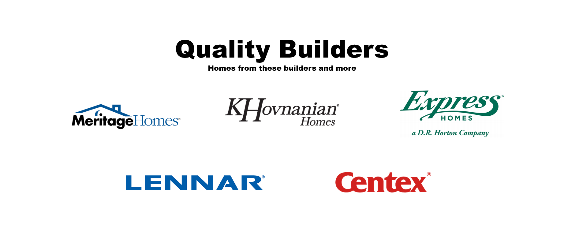Home Builders with Zero Down Options