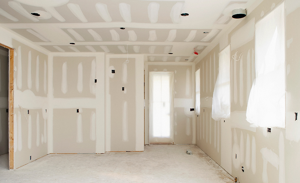 New Home in Sheetrock Stage
